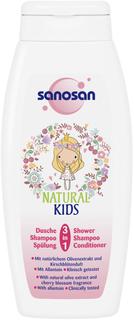 Средство 3 в 1 Sanosan гель для душа, шампунь и кондиционер для девочек 250 мл
