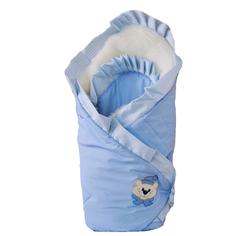 Одеяло на выписку Арго «Мишка» голубое Argo