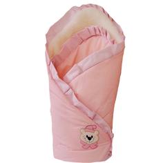 Одеяло на выписку Арго «Мишка» розовое Argo