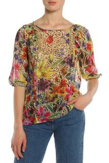 Блуза с принтом Blugirl