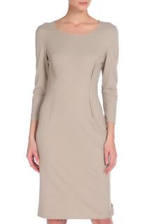 Прилегающее платье с округлой горловиной GF FERRE