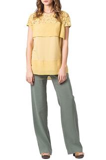 Свободная блузка с короткими рукавами Helmidge