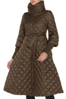 Полуприлегающая куртка с поясом и ремнем Clasna