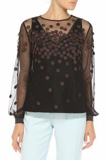 Свободная блуза с длинными рукавами SPORTMAX