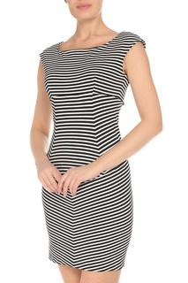 Приталенное платье в полоску GF FERRE
