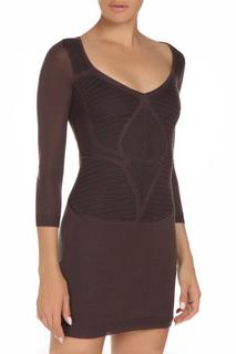Приталенное платье с рукавами 3/4 GF FERRE
