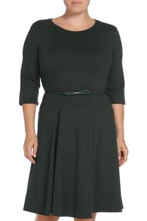 Полуприлегающее платье с ремнем Max Mara