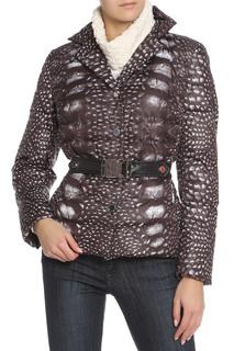 Полуприлегающая куртка со съемным ремнем Caterina Leman