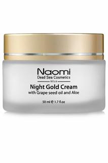 Ночной золотой крем Naomi