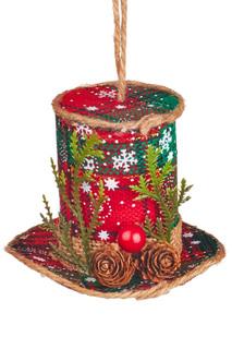 "Новогодний декор ""Шляпа"" DUE ESSE CHRISTMAS"