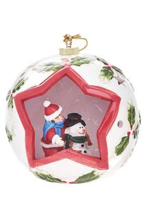 Новогодняя композиция в шаре DUE ESSE CHRISTMAS