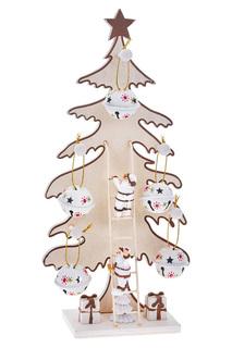 Елка с подвесными игрушками DUE ESSE CHRISTMAS