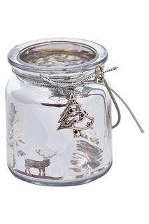 """Подсвечник """"Винтажный серебро"""" DUE ESSE CHRISTMAS"""