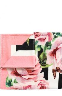 Хлопковое полотенце с принтом Dolce & Gabbana