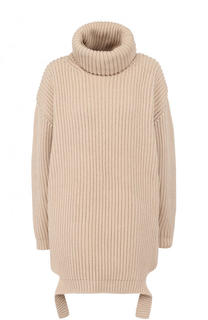 Хлопковый свитер фактурной вязки Balenciaga