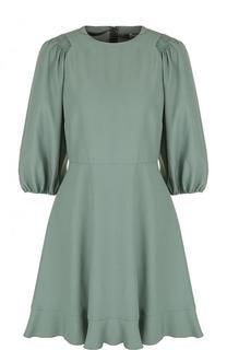 Приталенное мини-платье с укороченным рукавом REDVALENTINO