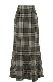 Шерстяная юбка-карандаш в клетку Walk of Shame