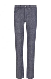 Льняные джинсы прямого кроя 120% Lino