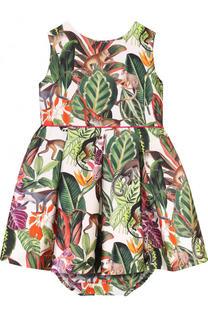 Комплект из платья и трусов Oscar de la Renta