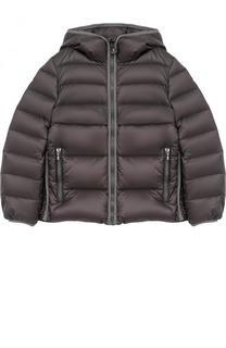 Пуховая куртка с капюшоном Moncler Enfant