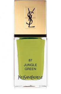 Лак для ногтей La Laque Couture, оттенок 87 YSL