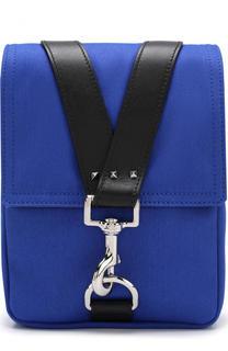 Текстильная сумка-планшет с клапаном Valentino