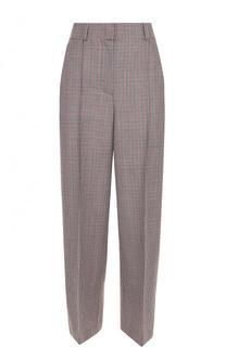 Укороченные шерстяные брюки со стрелками Racil