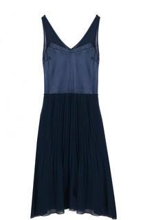 Платье-миди свободного кроя с плиссированной юбкой By Malene Birger