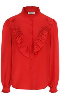 Шелковая блуза свободного кроя с оборками Zadig&Voltaire Zadig&Voltaire