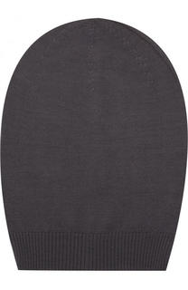Шерстяная вязаная шапка бини Rick Owens