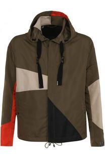 Утепленная куртка на молнии с капюшоном Lanvin