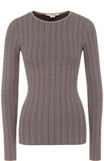 Приталенный пуловер с круглым вырезом Stella McCartney