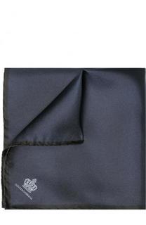 Шелковый платок с контрастным кантом Dolce & Gabbana