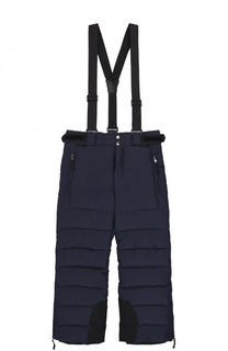 Пуховые брюки на подтяжках Dolce & Gabbana