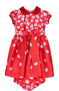 Комплект из мини-платья с трусами Oscar de la Renta