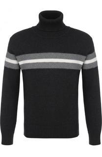 Шерстяной свитер с воротником-стойкой Z Zegna