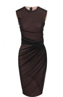Платье-футляр с драпировкой By Malene Birger