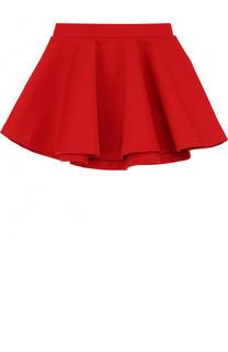 Мини-юбка джерси свободного кроя Polo Ralph Lauren