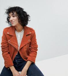 Оранжевая байкерская куртка Reclaimed Vintage Inspired - Оранжевый