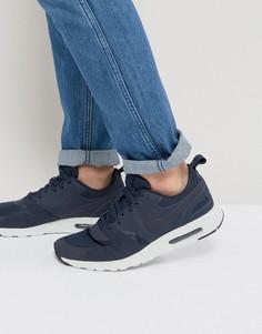 Синие кроссовки Nike Air Max Vision Premium 918229-400 - Синий