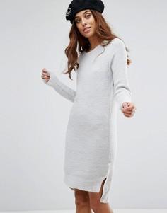 Платье-джемпер Brave Soul Jupiter - Серый