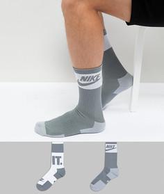 2 пары носков с логотипом Nike SX5770-938 - Мульти