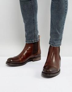 Кожаные ботинки челси Jack & Jones Greg - Коричневый