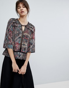 Блузка с принтом d.Ra Dakota - Красный