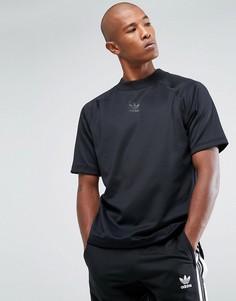 Черный свитшот с отделкой лентой adidas Originals Chicago Pack Nova BS4495 - Черный