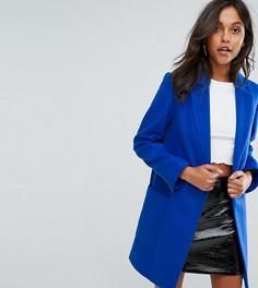 Длинное пальто Missguided - Синий
