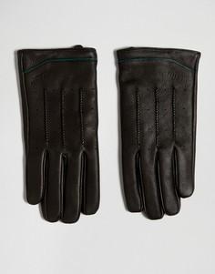 Кожаные перчатки Ted Baker - Черный
