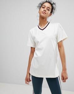 Белая футболка adidas Originals Adibreak - Белый