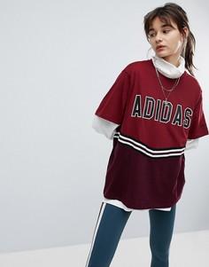 Футболка adidas Originals Adibreak - Красный
