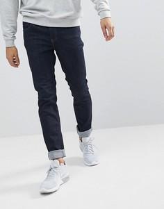 Темные джинсы узкого кроя WeSC Alessandro - Синий